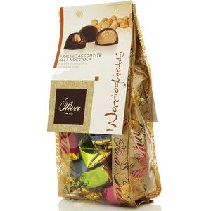 Шоколадные конфеты с орехово-кремовой начинкой тартуфи ноччогиотти ТМ Oliva (Олива)