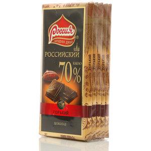 Шоколад горький Российский 5*90г ТМ Россия