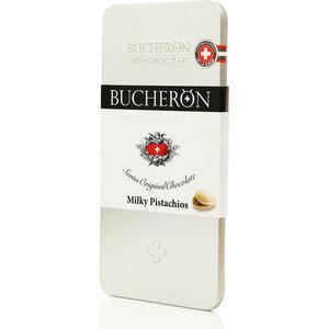 Шоколад молочный с фисташками ТМ Bucheron (Бачерон)