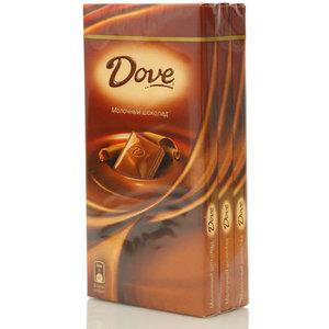 Шоколад молочный 3*100г ТМ Dove (Дав)