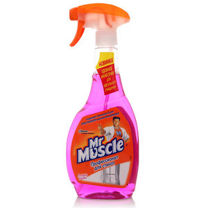 Средство для мытья стекол Лесные ягоды ТМ Mr. Muscle (Мистер Мускул)