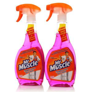 Средство для мытья стекол Профессионал для стекол с аммониа-Д Лесные ягоды, 2 шт, ТМ Mr. Muscle (Мистер Мускул).
