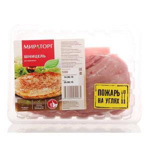 Свинина шницель из окорока охлажденный ТМ Мираторг