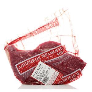 Говядина внутренняя часть бедра без кости охлаждённая ТМ Липецкое Мраморное Мясо