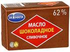 Масло шоколадное сливочное 62%. ТМ Экомилк
