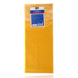Скатерть полиэтиленовая синяя / желтая 110х140 см ТМ Aro (Аро)