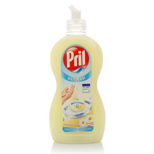 Средство для мытья посуды ТМ Pril (Прил) Бальзам Витамин Е, Ромашка