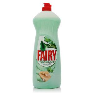 Средство для мытья посуды Нежные руки Чайное дерево и мята ТМ Fairy (Фэйри)