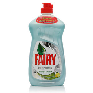 Средство для мытья посуды Platinum Лимон и лайм ТМ Fairy (Фэйри)
