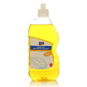 Средство для мытья посуды свежесть лимона ТМ Aro (Аро) эффективно в холодной воде