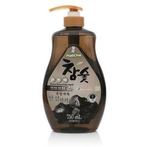 Средство для мытья посуды, овощей и фруктов с экстрактом древесного угля ТМ PoshOne (ПошУан)