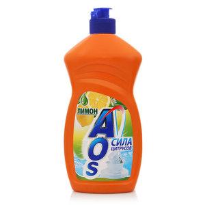 Средство для мытья посуды Лимон ТМ AOS (АОС) сила цитрусов