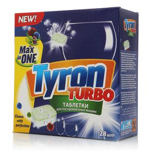 Таблетки для посудомоечных машин ТМ Tyron (Турон)