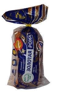 Хлеб Золотая рожь, нарезка ТМ Каравай
