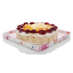 Торт Летний десерт по-французски ТМ Крепвиль с блинчиками фруктовый
