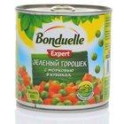 Зеленый горошек с морковью в кубиках ТМ Bonduelle (Бондюэль)