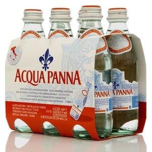 Вода природная минеральная столовая негазированная ТМ Acqua Panna (Аква Панна), 6*250мл
