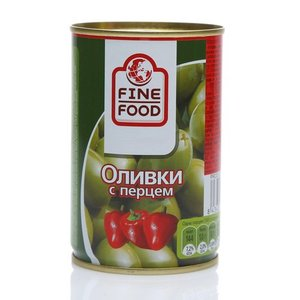 Оливки с перцем ТМ Fine Food (Файн Фуд)