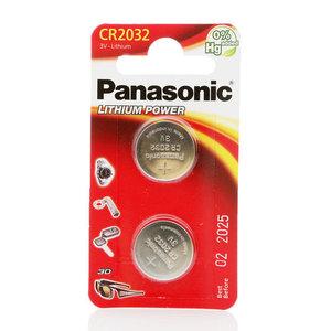 Литиевый элемент питания 3V ТМ Panasonic (Панасоник), 2 шт