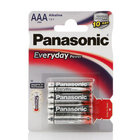 Алкалиновые батарейки AAA Everyday Power ТМ Panasonic (Панасоник), 4 шт