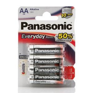 Батарейки AA Everyday Power ТМ Panasonic (Панасоник), 4 шт