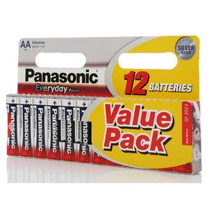 Батарейки AA Everyday Power ТМ Panasonic (Панасоник), 12 шт