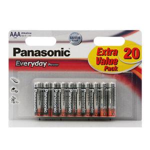 Батарейки AAА Everyday Power ТМ Panasonic (Панасоник), 20 шт