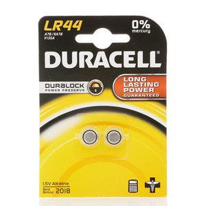 Щелочной элемент питания LR44 ТМ Duracell (Дюрасел), 2 шт