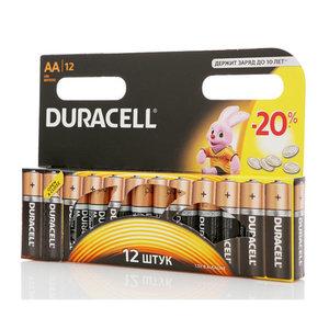 Батарейки АА ТМ Duracell (Дюрасел), 12 шт