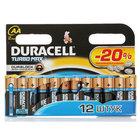 Батарейки Turbo Max АА ТМ Duracell (Дюрасел), 12 шт