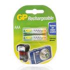 Аккумуляторные батарейки ААА 1000  ТМ GP Rechargeable (Ричэрджебл), 2 шт