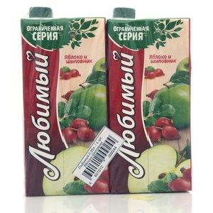 Нектар яблок и шиповника ТМ Любимый, 4*950мл