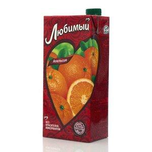 Нектар апельсиновый ТМ Любимый