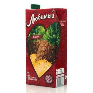 Нектар ананасовый ТМ Любимый