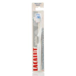 Зубная щетка Lacalut white cредней жесткости ТМ Lacalut (Лакалут)