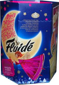 Набор конфет Fluide boutique миндаль и кокос в молочном шоколаде