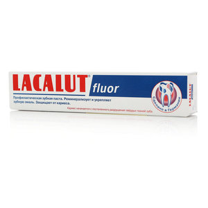 Зубная паста Lacalut fluor ТМ Lacalut (Лакалют)