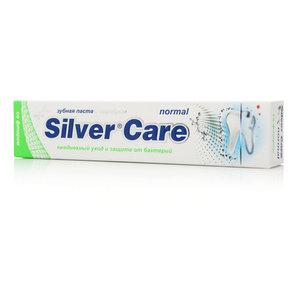 Зубная паста Silver care normal с серебром ТМ Silver care (Сильвер каре)