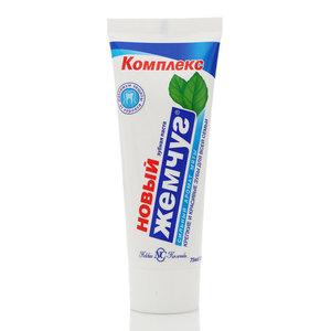 Зубная паста с сильным ароматом мяты ТМ Новый Жемчуг