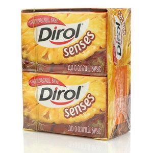 Жевательная резинка тропический вкус 16 пачек ТМ Dirol Senses (Дирол Сенсис)