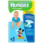 Подгузники Ultra comfort 4 для мальчиков (10-16кг) ТМ Huggies (Хаггис), 68 штук