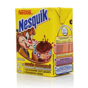 Коктейль шоколадный молочный 2,1% ТМ Nesquik (Несквик)