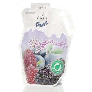 Йогурт с лесными ягодами 1,5% ТМ Снежок