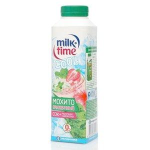 Молочная сыворотка + сок Мохито клубничный ТМ MilkTime (Милк Тайм)