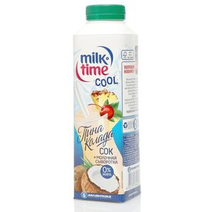 Молочная сыворотка + сок пинаколада ТМ Milk Time (Милк Тайм)
