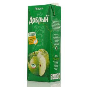 Сок яблоко ТМ Добрый
