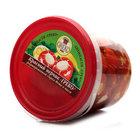 Красный перчик фаршированный сыром в масле ТМ Greco (Греко)