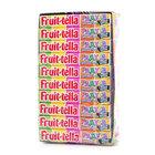 Конфеты жевательные ассорти со вкусами яблока, ананаса, клубники, апельсина, банана ТМ Fruit-tella (Фру-телла), 20*41г