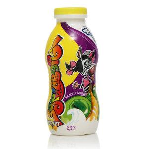 Йогурт фруктовый яблоко-банан 2,2% ТМ Здрайверы