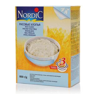 Рисовые хлопья ТМ Nordic (Нордик)
